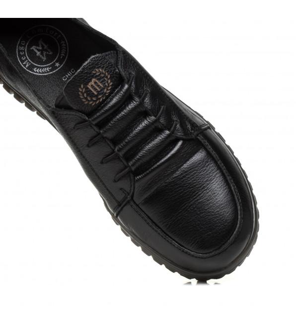 Туфлі жіночі шкіряні на низькому ходу  Meegocomfort