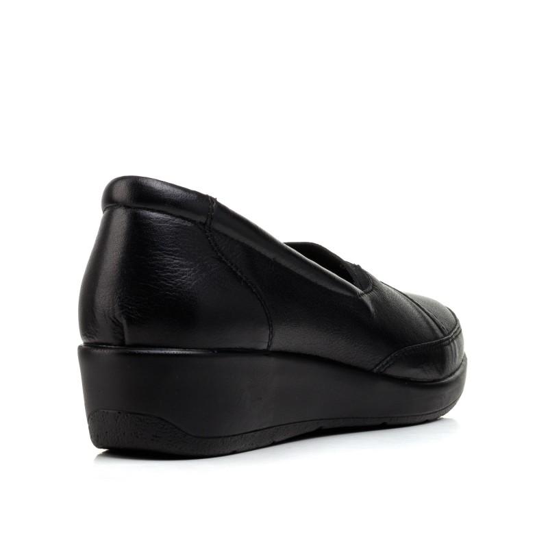Туфлі жіночі шкіряні на платформі altura