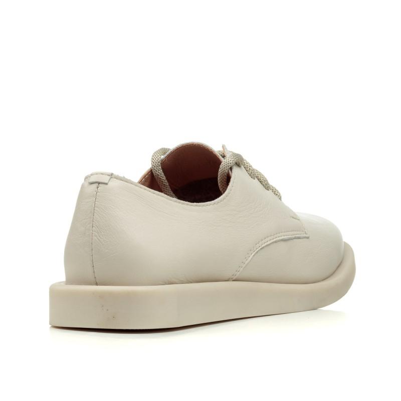 Туфлі замшеві пудрові на низькому ходу All shoes