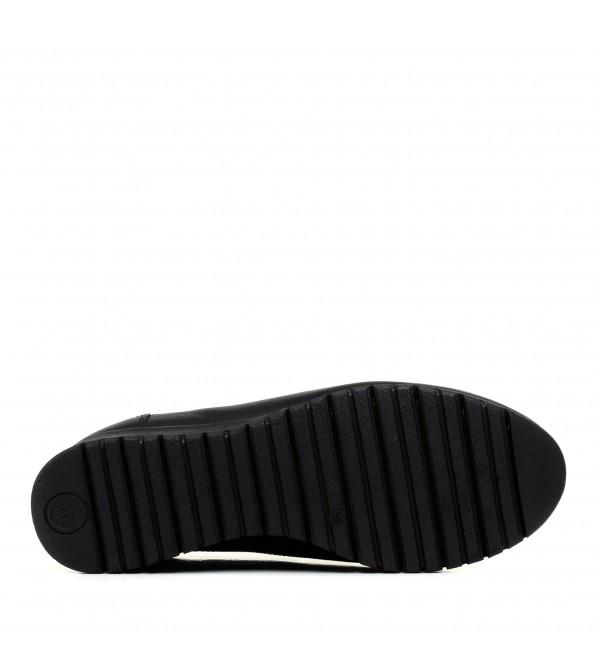 Туфлі жіночі  шкіряні осінні на танкетці Mamammia