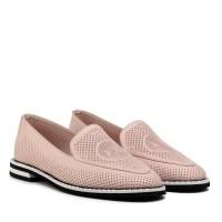 Туфлі женские кожаные светлые Phany