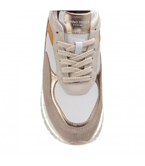 Кросівки жіночі світлі шкіряні Alpino