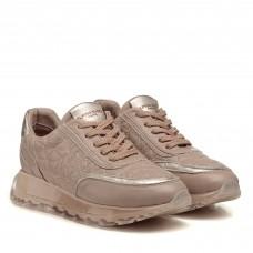 Кроссовки кожаные бежевые Alpino