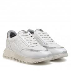 Кроссовки женские белые кожаные Alpino