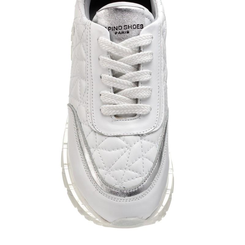 Кросівки жіночі білі шкіряні Alpino