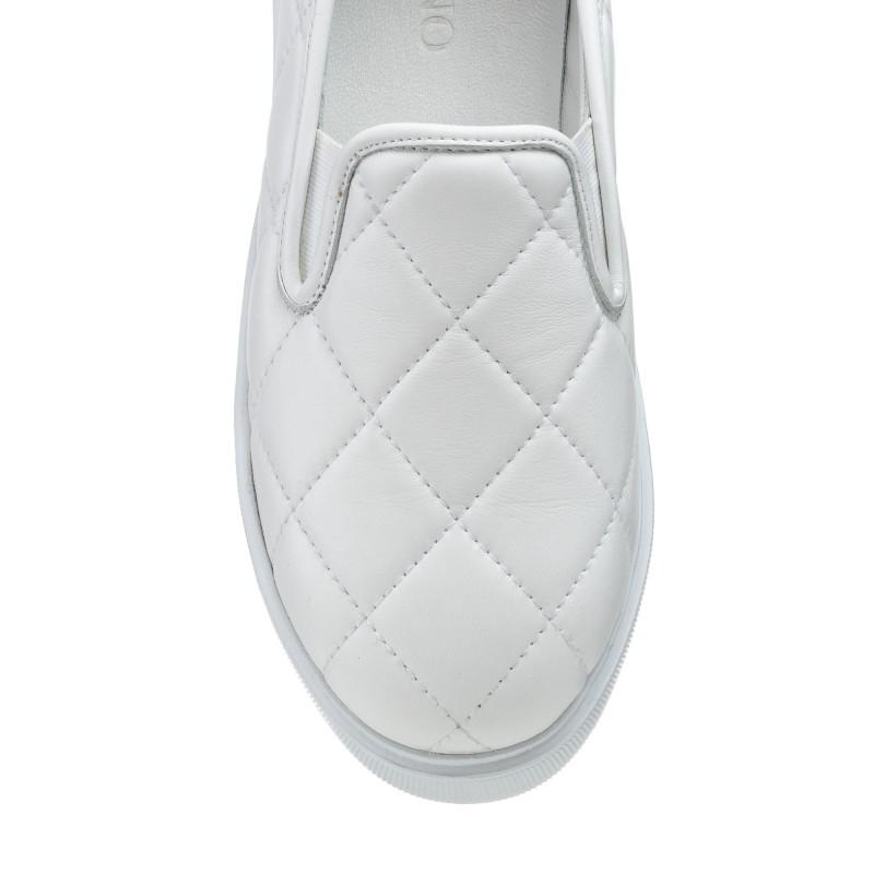 Туфлі жіночі шкіряні літні на платформі Alpino