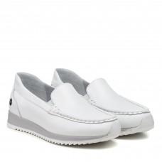 Туфли женские кожаные на низком ходу Alpino