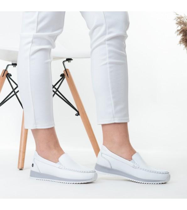 Туфлі жіночі шкіряні на низькому ходу Alpino