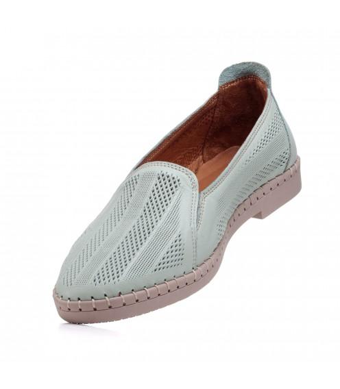 Туфлі шкіряні на низькому ходу Gossi