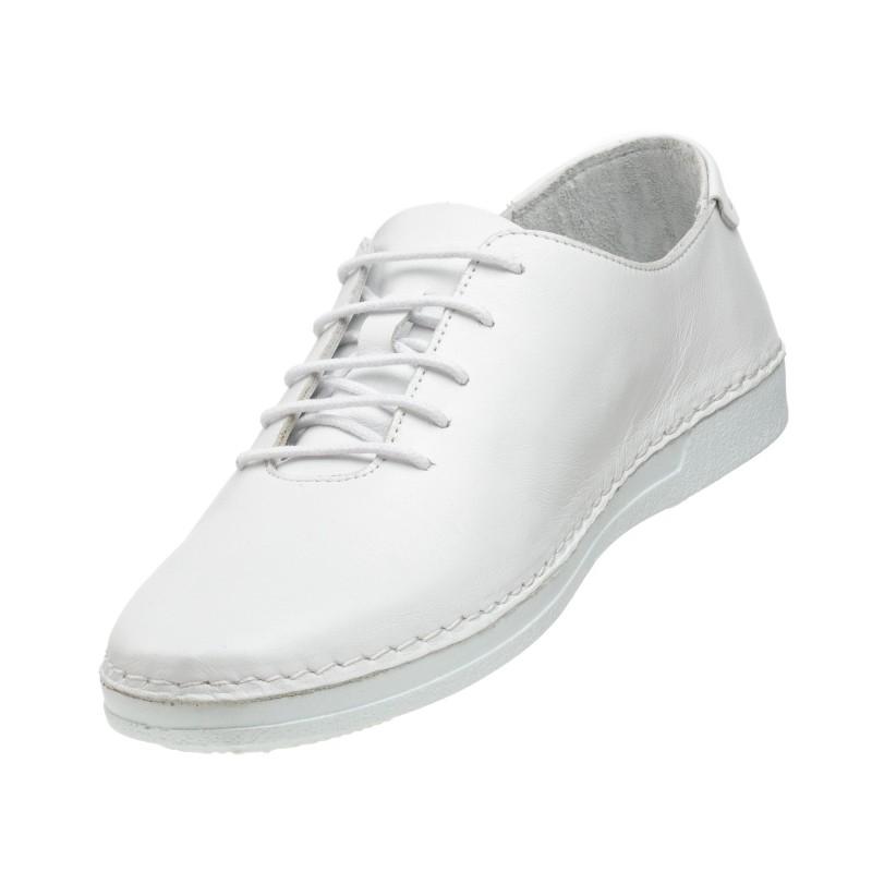 Туфлі шкіряні білі All shoes
