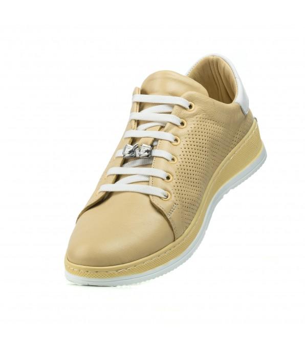 Туфлі жіночі літні жовті Magnolya