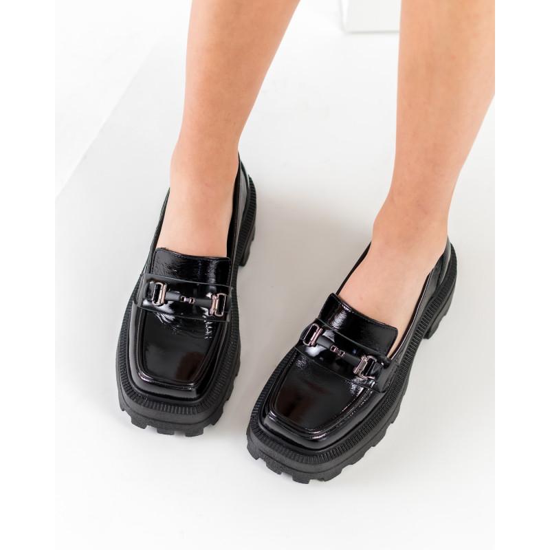 Туфлі жіночі шкіряні лаковані осінні Guero