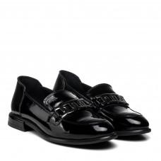 Туфли женские кожаные лакированные Aquamarin