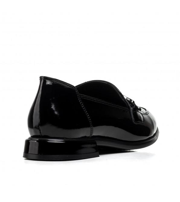 Туфлі жіночі шкіряні лаковані Aquamarin