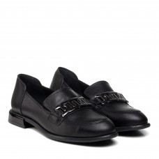 Туфли женские кожаные на низком ходу Aquamarin