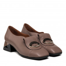 Туфли женские кожаные кожаные капучино Mario muzi