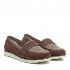 Туфли замшевые на низком ходу Zlett