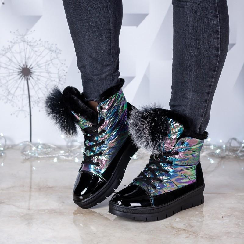 Черевики жіночі спортивні зручні V.I.Konty  на платформі на шнурівках оригінальні