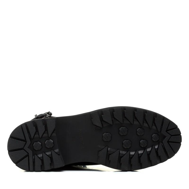 Черевики жіночі шкіряні чорні зимові Anemone