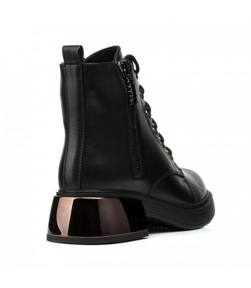 Черевики жіночі шкіряні на шнурках Brooman