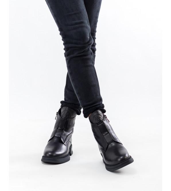 Черевики жіночі чорні зимові Geronea