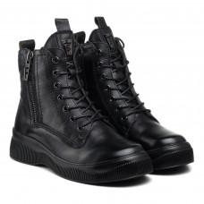 Ботинки женские кожаные на платформе Meegocomfort