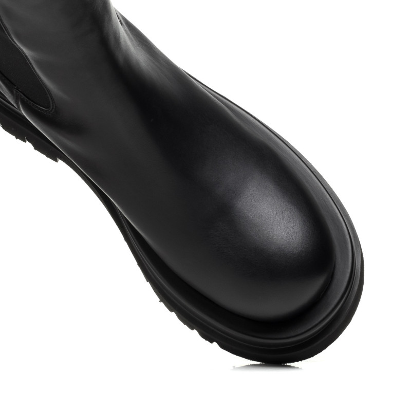 Черевики жіночі шкіряні на плоскій підошві Berkonty