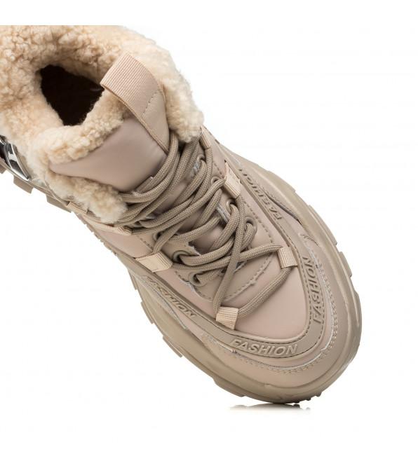 Кросівки жіночі бежеві Aiformaria