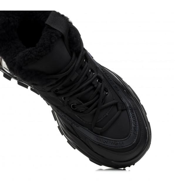 Кросівки жіночі чорні Aiformaria