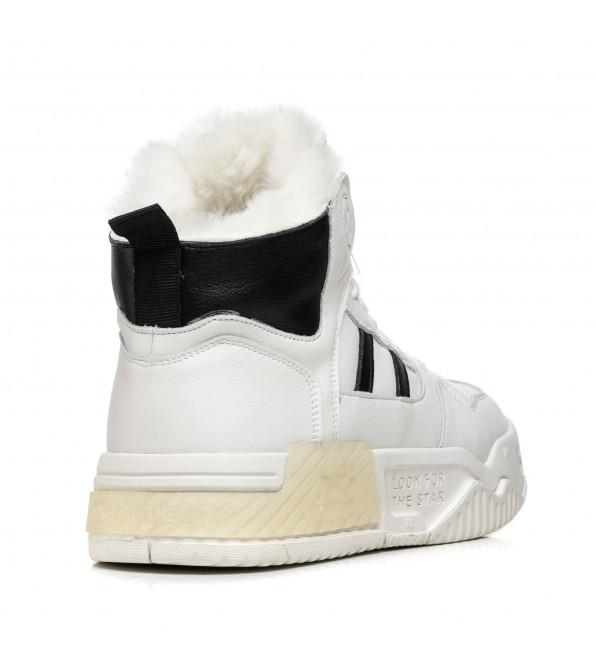 Кросівки жіночі зимові світлі Nadi bella