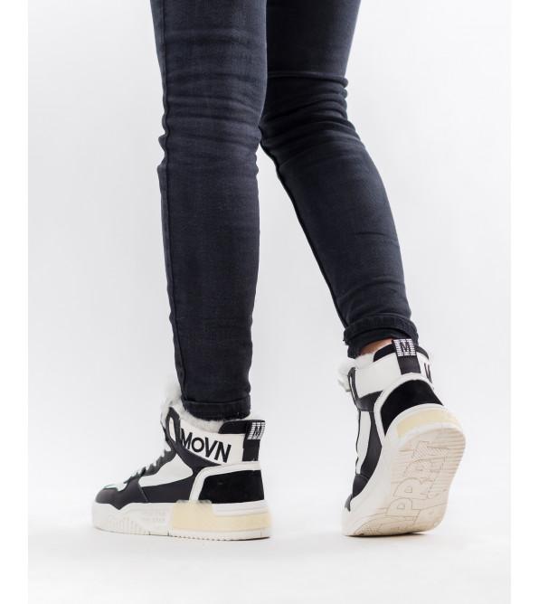 Черевики жіночі шкіряні спортивні зимові Nadi bella