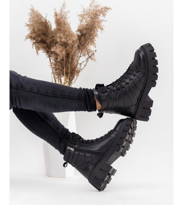 Черевики жіночі чорні зимові Guero