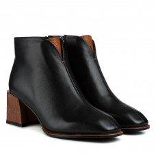 Ботильоны женские кожаные трендовые на каблуке Lady Marcia