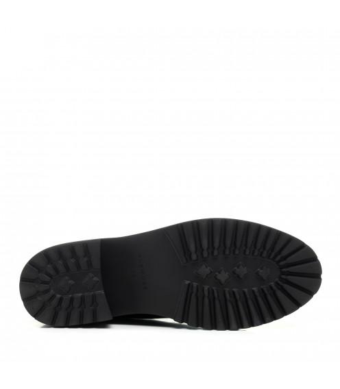 Черевики челсі жіночі чорні шкіряні Anemone