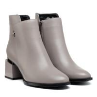 Ботильоны женские кожаные на каблуке Polann