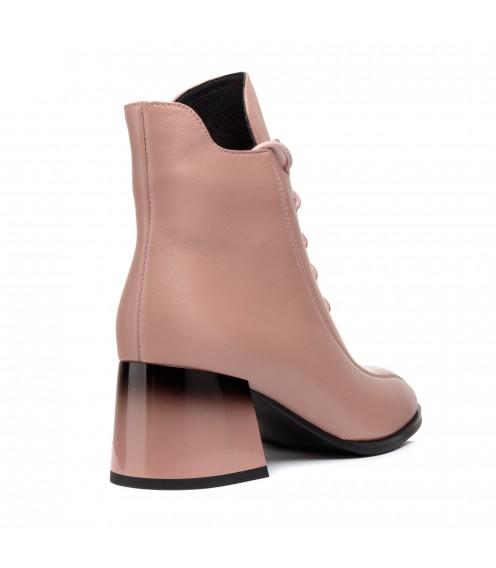 Ботильоны женские кожаные на каблуке My classic