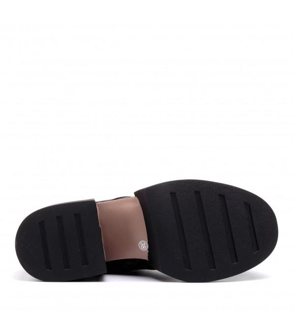 Черевики жіночі чорні на на платформі My classic
