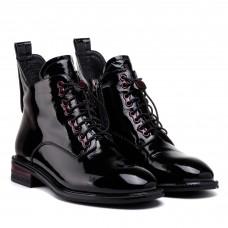 Ботинки женские натуральные на шнуровке My classic