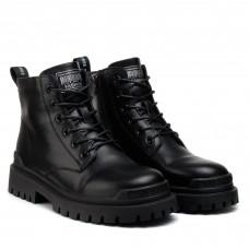 Ботинки женские черные на шнуровке Lifexpert