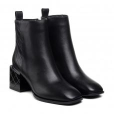 Ботинки женские кожаные демисезонные на каблуке Geronea