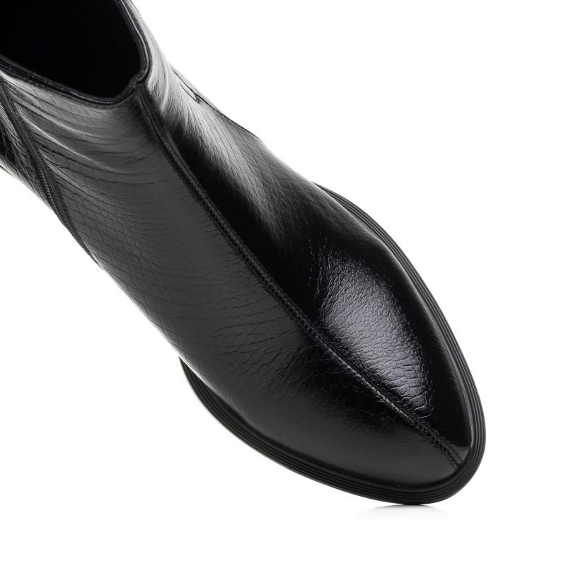 Черевики жіночі шкіряні чорні Sufinna