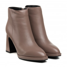 Ботильоны женские кожаные на каблуке Sufinna