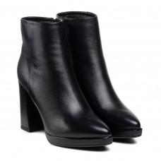 Ботильоны женские кожаные на высоком каблуке Vidorcci