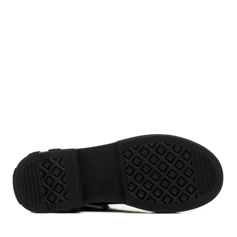 Черевики жіночі чорні на низькому ходу Meegocomfort