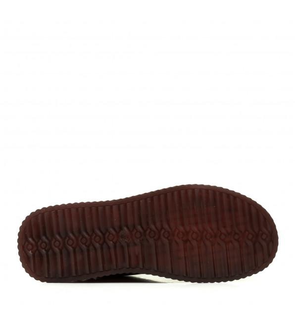 Черевики жіночі демісезонні коричневі на платформі Meegocomfort