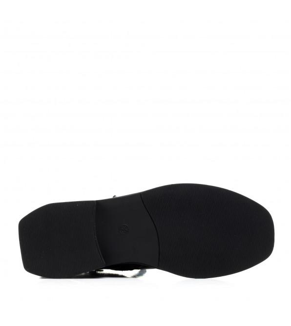Черевики жіночі  шкіряні бордові на низькому ходу Meegocomfort