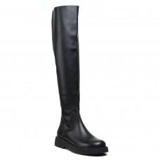 Ботфорты Lottini кожаные стильные на удобной подошве