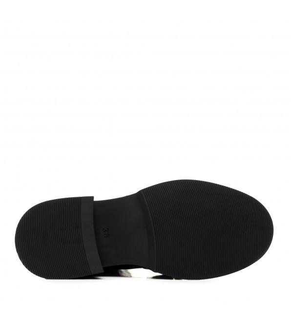 Черевики жіночі шкіряні чорні Guero