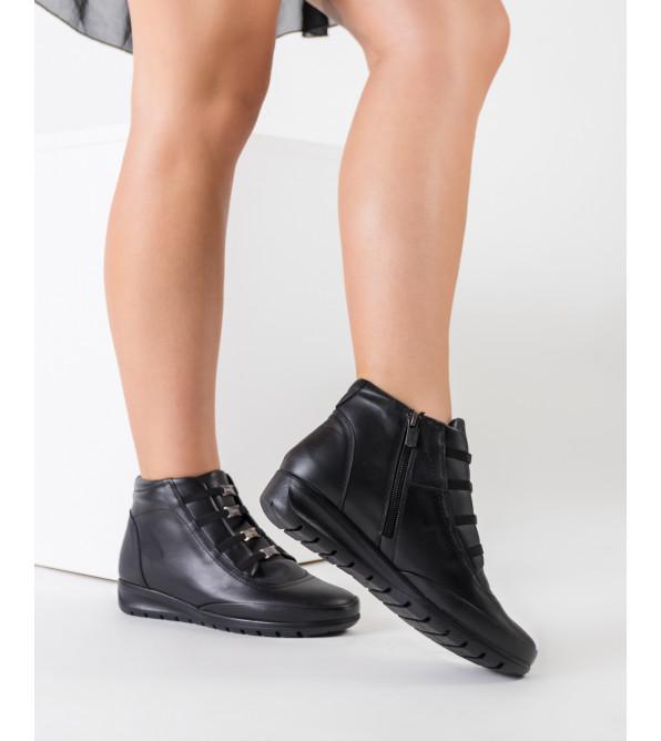 Черевики жіночі шкіряні без каблука VOYAGER