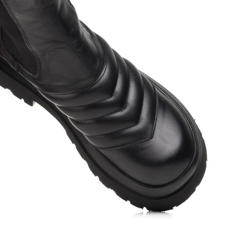 Черевики жіночі чорні шкіряні Guero